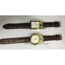Relógios de quartzo personalizados novidade com isqueiro do cigarro