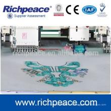 Многоголовочная высокоскоростная компьютеризированная машина для вышивания с намоточным покрытием
