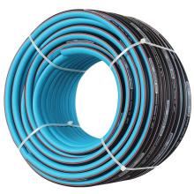 Flexible pvc and rubber garden water hose