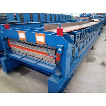 Double Layer Helaian Iron membentuk Mesin