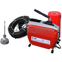 D150 plumbing drain cleaning machine with CE