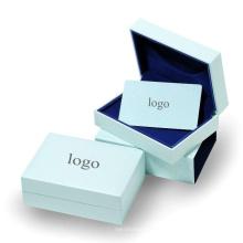 Cajas de embalaje de regalo de joyería artesanal elegante
