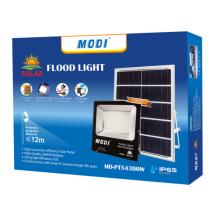 Portable solar outdoor light for garden