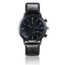 6821 Montre-bracelet multifonction noire plaquée IP