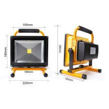 Lumière d'inondation portative extérieure du secours 20W LED d'IP65