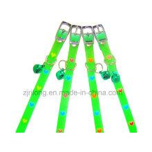 Collares de perro luminoso del amor del PVC Dp-CS1157