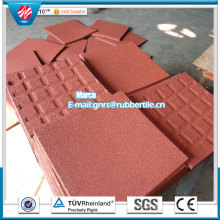 Anti-Fatigue Mat Rubber Floor Tile Indoor Rubber Tile Recycle Rubber Tile