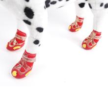 Hot Sale Waterproof Anti-slip Winter Snow Pet Boots
