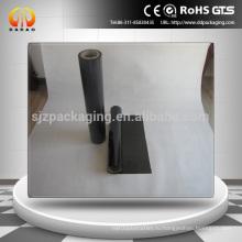 Черная полиэфирная пленка для упаковки