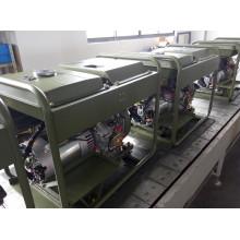 Gerador diesel da única fase 6kw da CA para o uso militar do cabo
