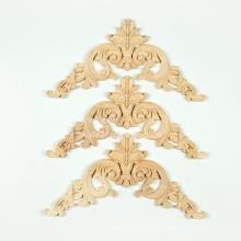 Onlays de madeira produto em madeira apliques em relevo onlays onlays móveis de madeira decorativa