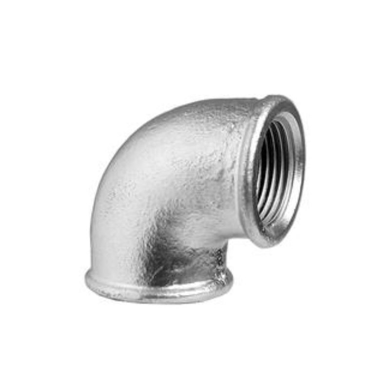 galvanized cast iron elbow