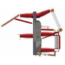 Fuente de fábrica Fzrn35-40.5D Combinación de interruptores y fusibles de interrupción de carga al vacío (núcleo cruzado integrado)