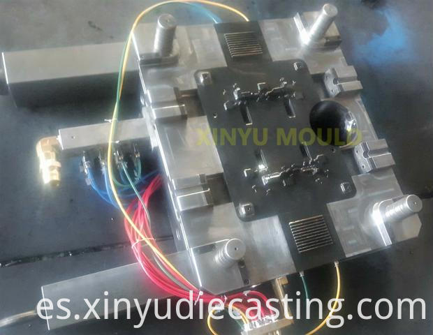 valve shell body die
