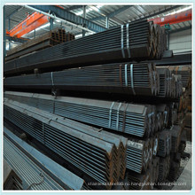 Черная горячекатаная слабая сталь q235 ss400 стальная труба ASTM А36 угла стали углерода