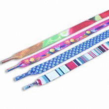 Colorful Shoe Laces with Fancy/Beautiful/Stylish/Multicolor Designs, Suitable for Girls