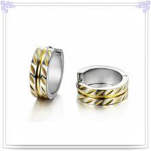 Joyería de la manera pendientes de la joyería del acero inoxidable (EE0034)