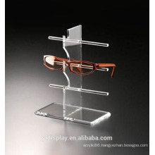 Customized Clear Acrylic Glasses Display Stand