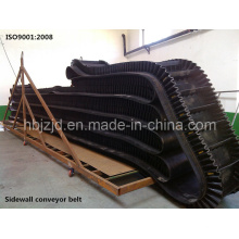 Correia Transportadora de Borracha Corrugada Lateral Xe-Sc-800/4 + 2