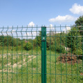triangle bend wire mesh fence