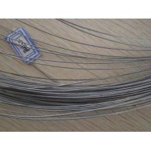 Fornecedor de China Arame galvanizado elétrico do ferro