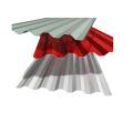 Hoja de techo de acero trapezoidal de 820 mm