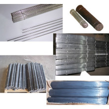 Alambre de hierro cortado galvanizado pulido y brillante duradero