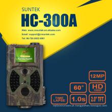 Câmera de jogo de caça selvagem com preto invisível 940nm Flash HC300A