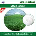 Edulcorantes naturais Extracto de plantas de estevia Rebaudiosídeo a