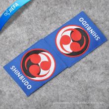 Étiquettes tissées de marque de vêtements, Étiquettes principales de vêtements, Étiquettes tissées de vêtements