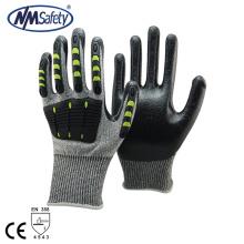 NMSAFETY NOUVEAU gant de protection TPR résistant aux chocs mécaniques anti-coupures