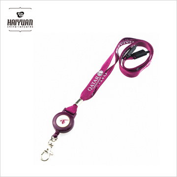 Custom Retractable Pull Reel for Badge Lanyard