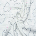 cobertor de musselina swaddle algodão útil swaddle bebê