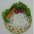Nourriture alimentaire instantanée Pure Konjac Shirataki Wok Noodles