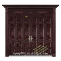 Le meilleur prix de porte de porte de fer / conception de porte principale en acier