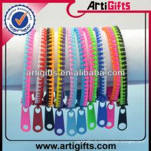 Double couleur pas cher bracelet à glissière mens