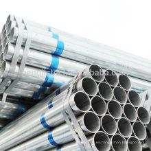 Tubos de acero galvanizado ERW