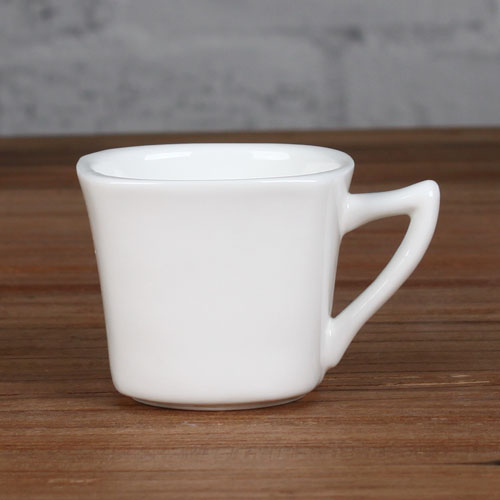 square outside and round insdie cup