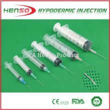 Seringues jetables (type normal, insuline, alimentation, sécurité, désactivation automatique ou vaccin BCG)