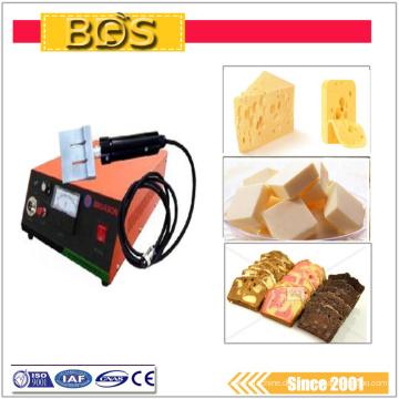 BDS handheld Ultraschall Camembert Lebensmittel / fabic Schneidemaschine Cutter Messer