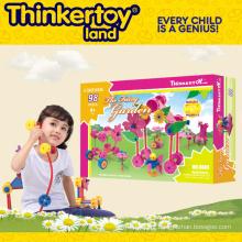 Plástico DIY brinquedo educativo para crianças
