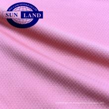 Tejido de malla de panal 100% poliéster de secado rápido para ropa deportiva