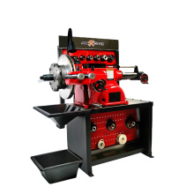 Best quality full automatic car brake lathe for wheel disc and drum