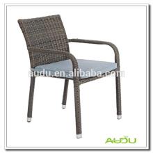 Audu Single 5cm Cushion Rattan Hampton Chair