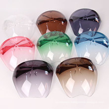 Adult Color Outdoor Riding Sports Anti Fog Protective Polycarbonate Face Cover Visors