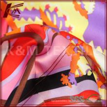 Natürliche Habotai Seide Stoff für Leder Seide Textil Druckstoff Floral Seidenkleid