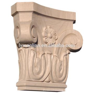 Decorative Wood Capitals Wooden Carving