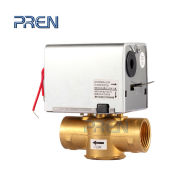 Brass non-rising stem resilient seated gate valve