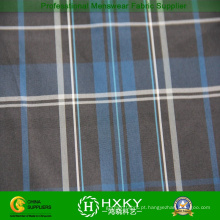 50D nova moda xadrez fio tingido de tecido de poliéster