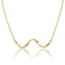 Модные Позолоченные Ожерелье Из Нержавеющей Стали Цепи Ожерелье Дропшиппинг Ссылке